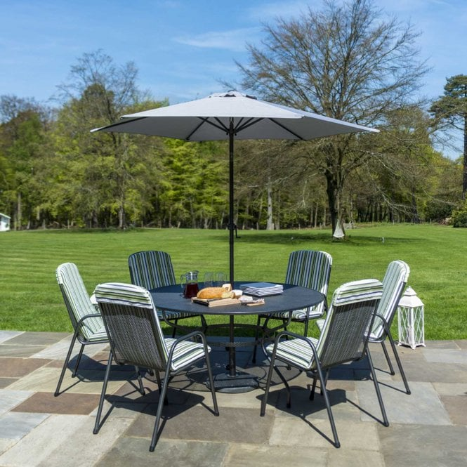 Click to view product details and reviews for Alexander Rose Portofino 15m Round Dining Set.