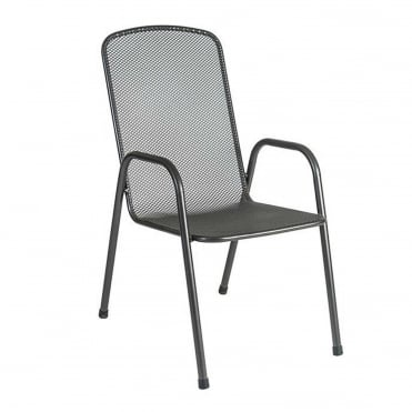 Alexander Rose Portofino High Back Stacking Armchair