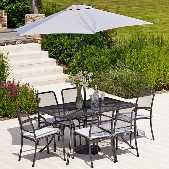 Click to view product details and reviews for Alexander Rose Portofino Rectangular Dining Set.