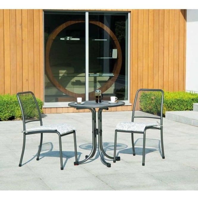 Click to view product details and reviews for Alexander Rose Portofino Round Bistro Set.