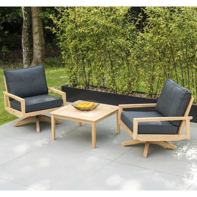 Click to view product details and reviews for Alexander Rose Roble Swivel Lounge Set.