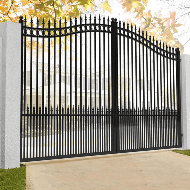 Click to view product details and reviews for Amalfi Ornate Aluminium Driveway Gate.