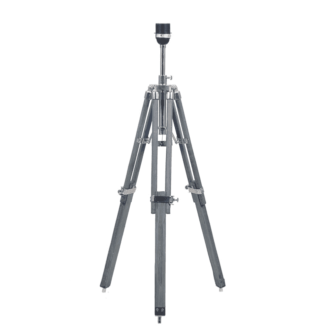 Click to view product details and reviews for Anthony Grey Wood Tripod Table Lamp Base.