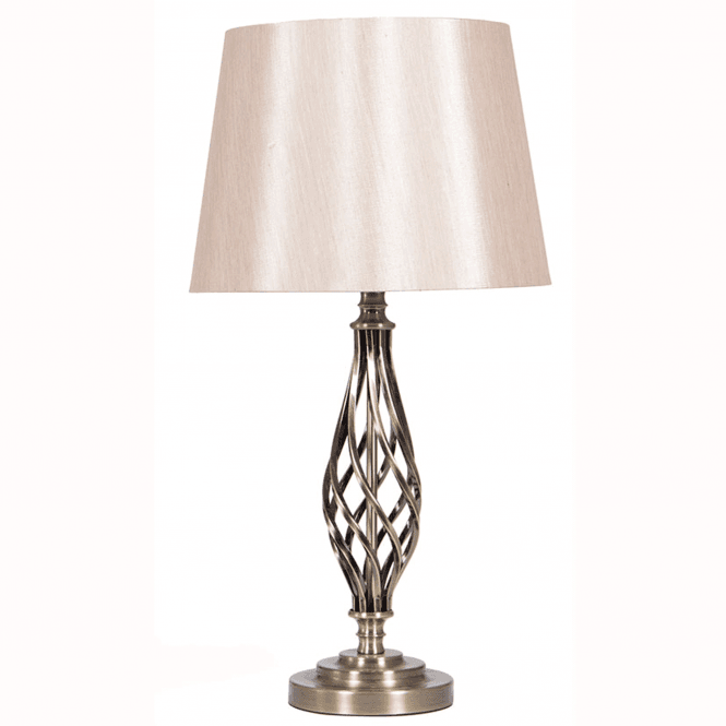 Click to view product details and reviews for Antique Brass Metal Table Lamp Complete.