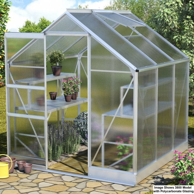 Click to view product details and reviews for Apollo 3800 6 X 6 Greenhouse Silver.