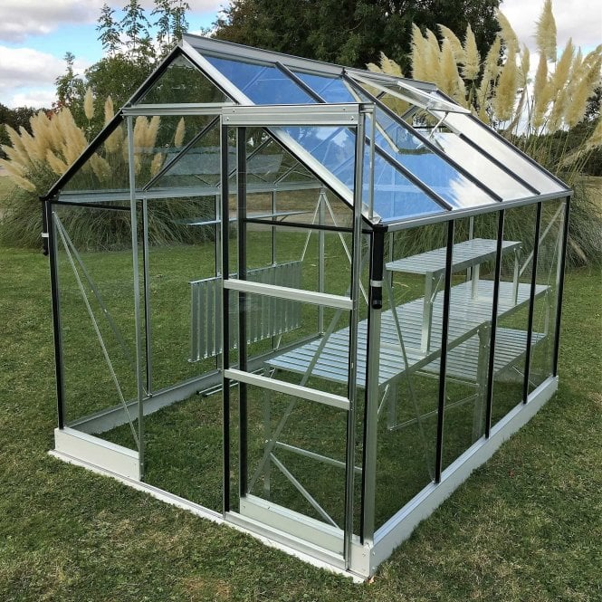 Click to view product details and reviews for Apollo 5000 6 X 8 Greenhouse Silver.