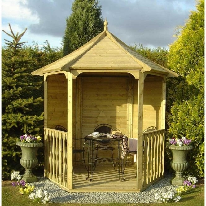 Click to view product details and reviews for Arbour Hexagonal Gazebo.