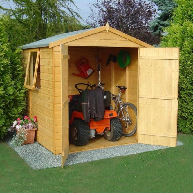 Arran Shed Double Door 6ft X 6ft Opening Window