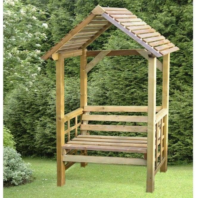 Athena Timber Garden Arbour