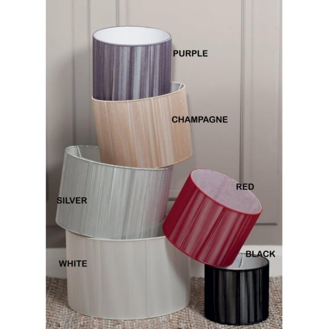 Aubery Drum In Shimmering String Lamp Or Ceiling Pendant Shade 40cm