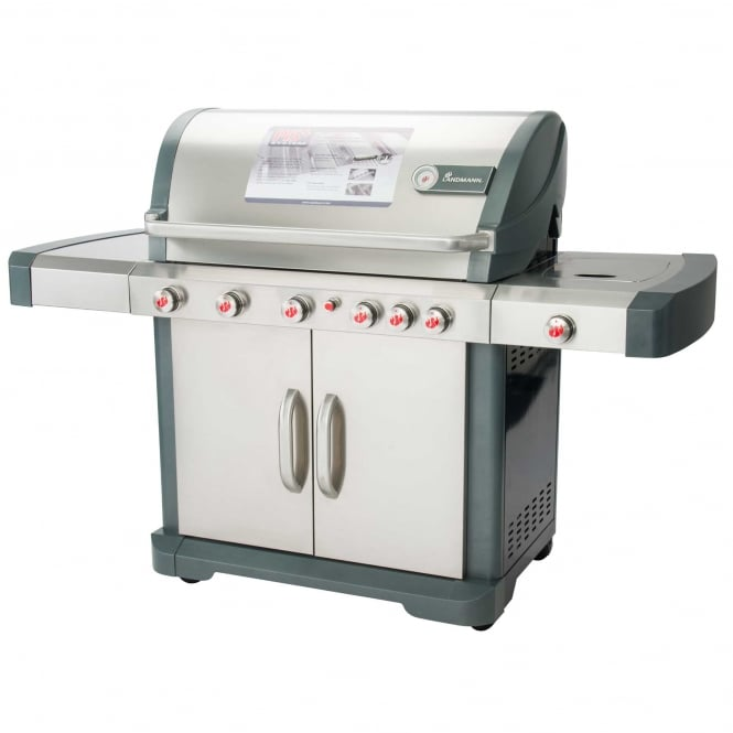 Click to view product details and reviews for Avalon 61 Stainless Steel Gas Bbq.
