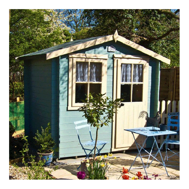 Click to view product details and reviews for Avesbury Log Cabin 7 X 7.