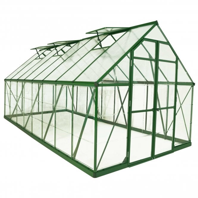 Click to view product details and reviews for Balance 8ft X16ft Green Greenhouse.