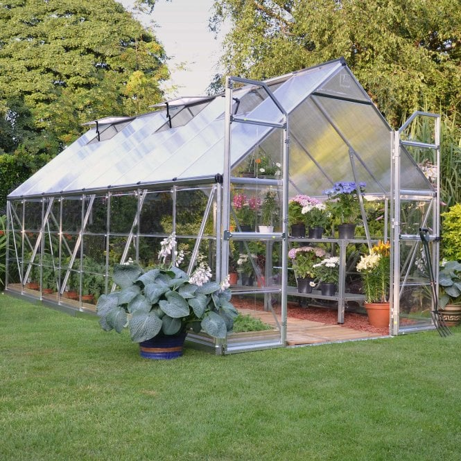 Click to view product details and reviews for Balance 8ft X16ft Silver Greenhouse.