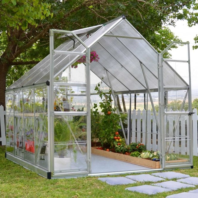 Click to view product details and reviews for Balance 8ft X8ft Silver Greenhouse.