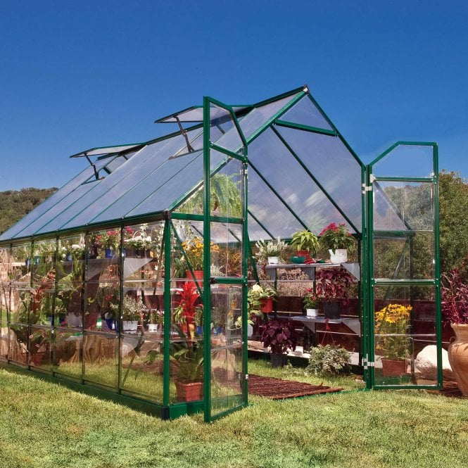 Click to view product details and reviews for Balance 8x12 Green Greenhouse.