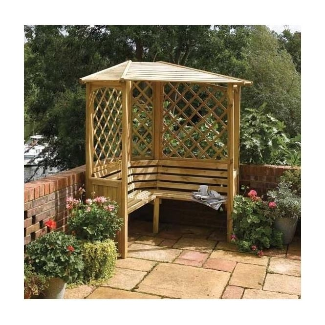 Click to view product details and reviews for Balmoral Corner Arbour.