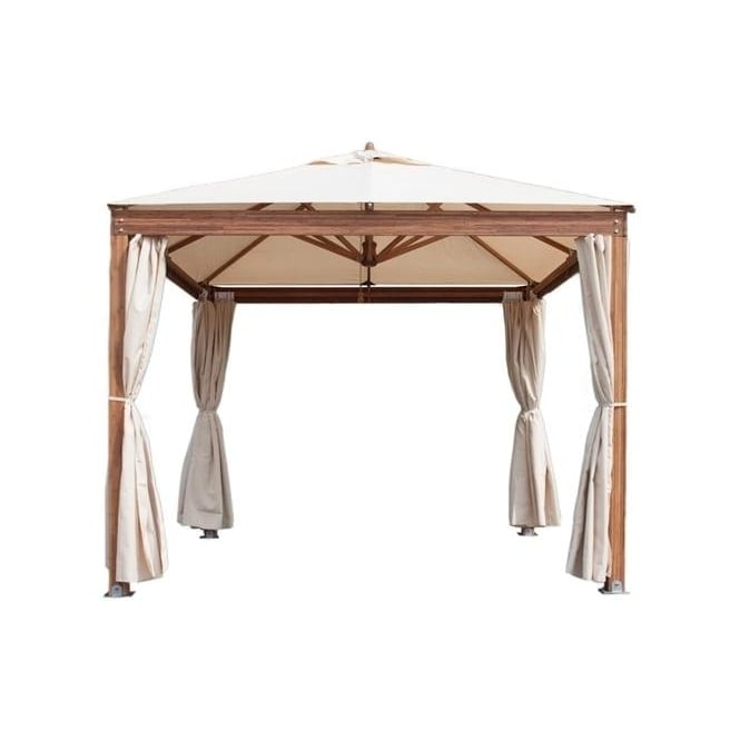 Click to view product details and reviews for Bambrella 3m Square Alize Gazebo With Spuncrylic Cover.