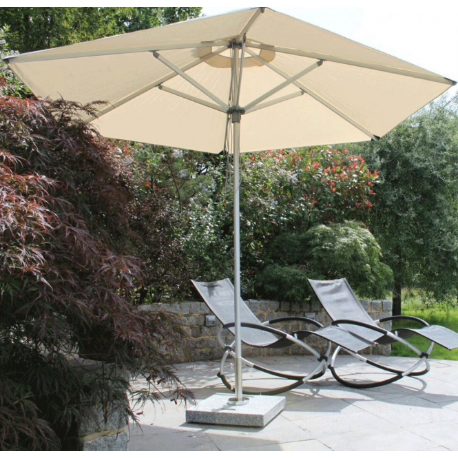 Click to view product details and reviews for Bambrella Santa Ana 25m Round Spuncrylic Parasol.
