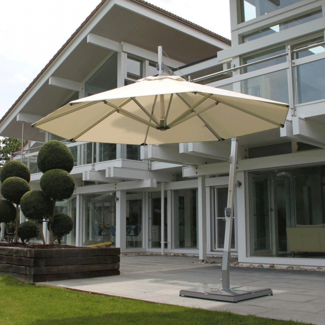 Click to view product details and reviews for Bambrella Side Wind Santa Ana 26m Square Spuncrylic Parasol.