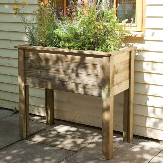 Click to view product details and reviews for Bamburgh High Level Planter Table.
