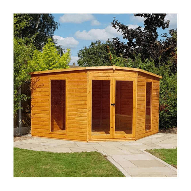 Click to view product details and reviews for Barclay Corner Summerhouse 10 X 10.