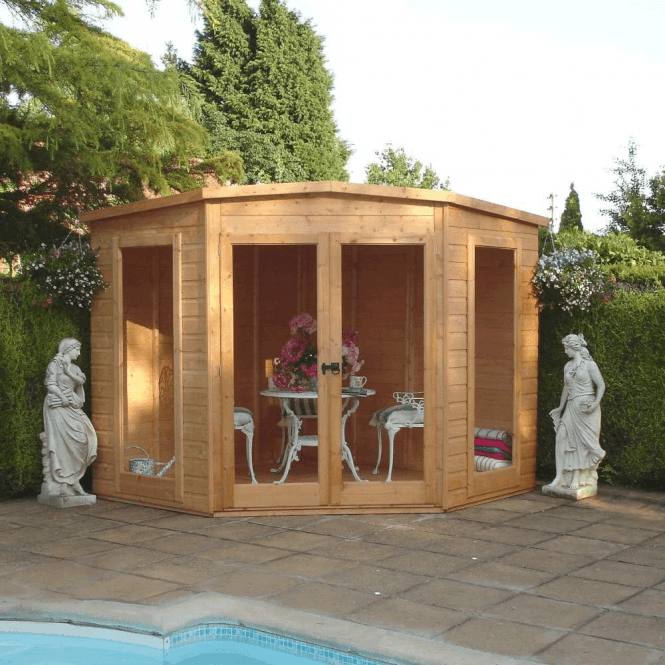 Click to view product details and reviews for Barclay Corner Summerhouse 7 X 7.