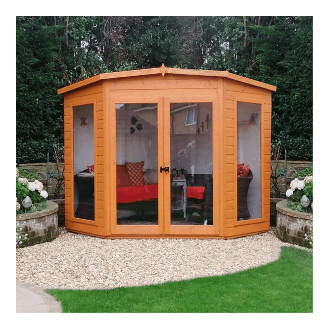Click to view product details and reviews for Barclay Corner Summerhouse 8 X 8.