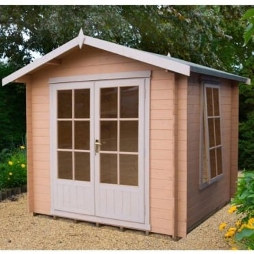 Barnsdale Log Cabin 3 Sizes 7x7 / 8x8 / 9x9