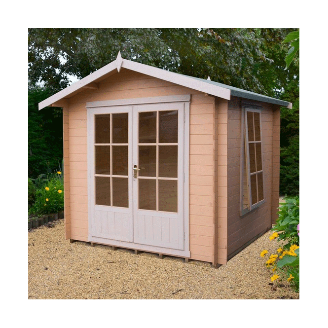 Click to view product details and reviews for Barnsdale Log Cabin 8 X 8.