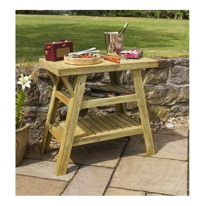 Bbq Side Table.Bbq Side Table