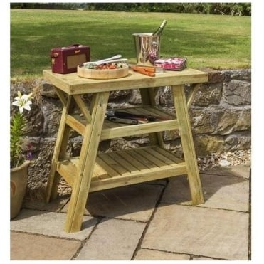 BBQ Side Table