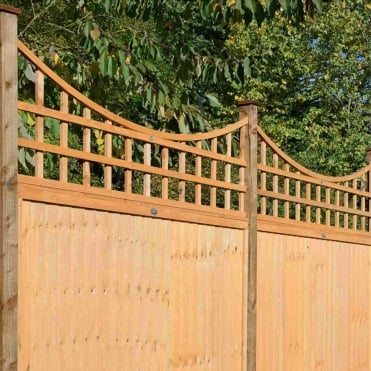 Bow Top Trellis Golden Brown