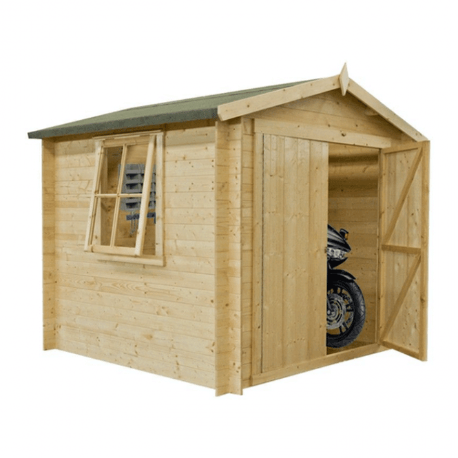 Click to view product details and reviews for Bradley Log Cabin 9 X 9.