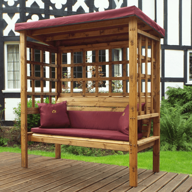 Click to view product details and reviews for Bramham 3 Seat Arbour.