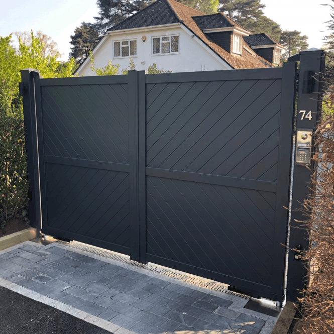 Click to view product details and reviews for Brockenhurst Aluminium Driveway Gate.