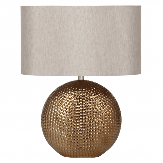 Click to view product details and reviews for Bronze Ceramic Table Lamp Complete.