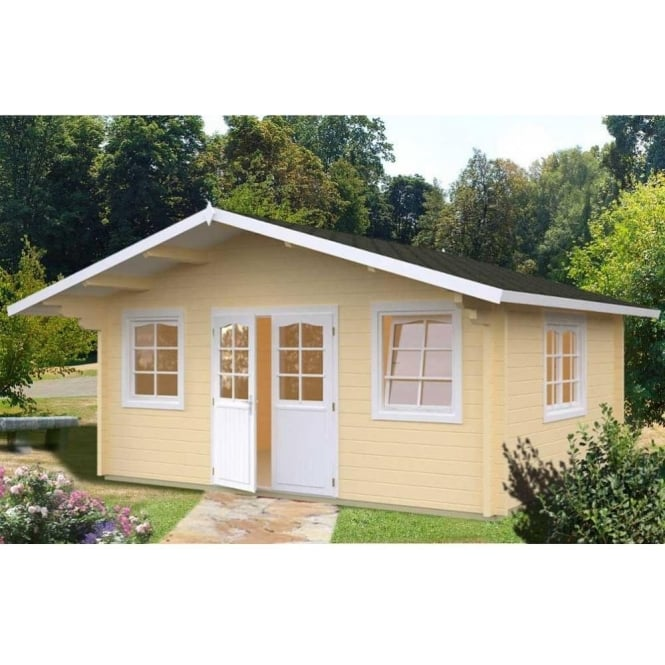 Click to view product details and reviews for Buckingham 2 Log Cabin With Double Glazing.
