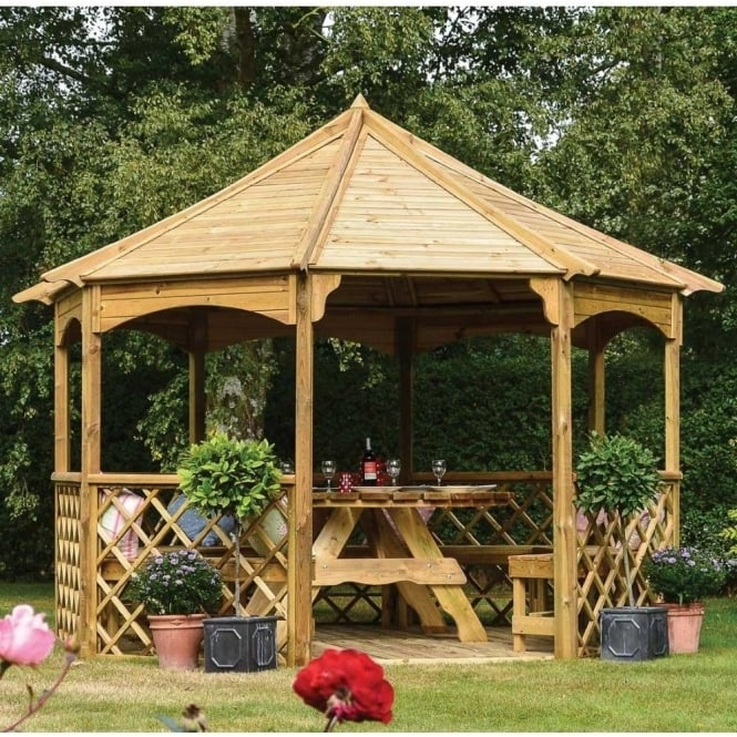 Click to view product details and reviews for Buckingham Gazebo.