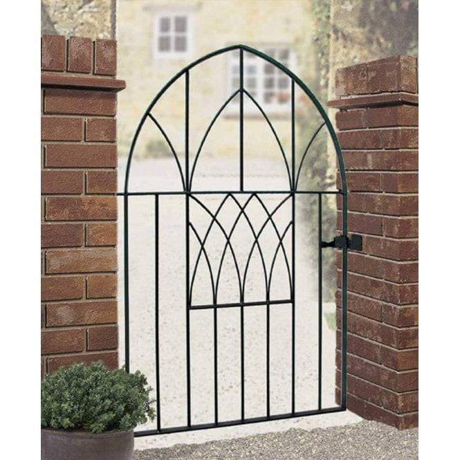 Click to view product details and reviews for Burbage Iron Craft Abbey Low Bow Single Gate.