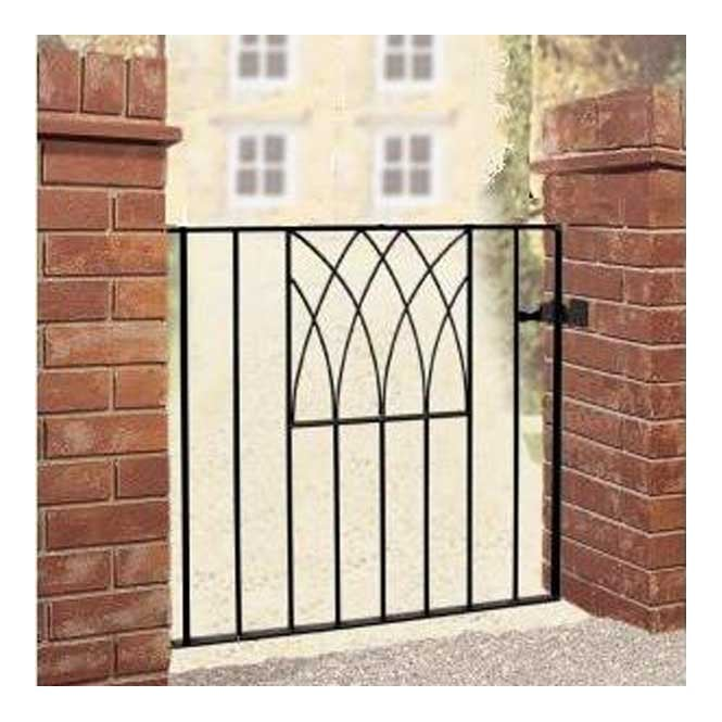 Click to view product details and reviews for Burbage Iron Craft Abbey Low Single Gate.