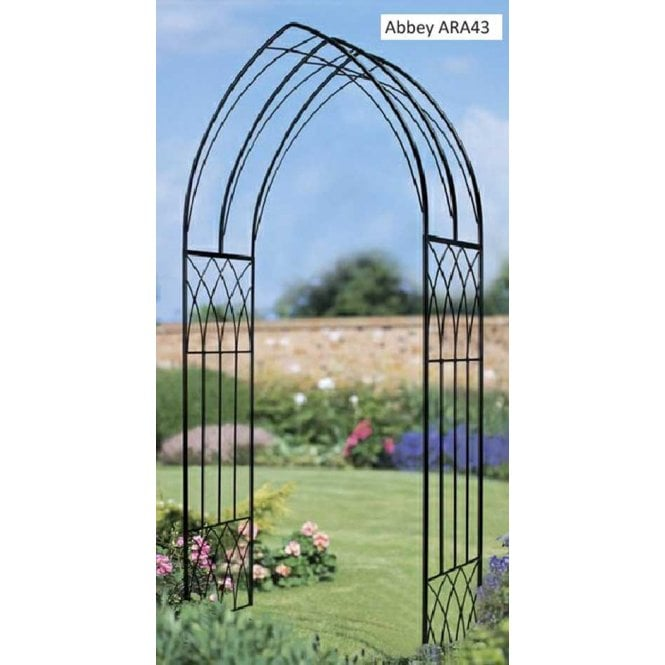 Click to view product details and reviews for Burbage Iron Craft Abbey Rose Arch.