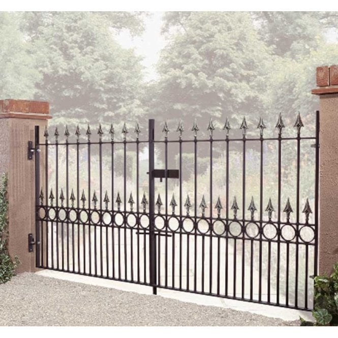 Burbage Iron Craft Balmoral Double Gate