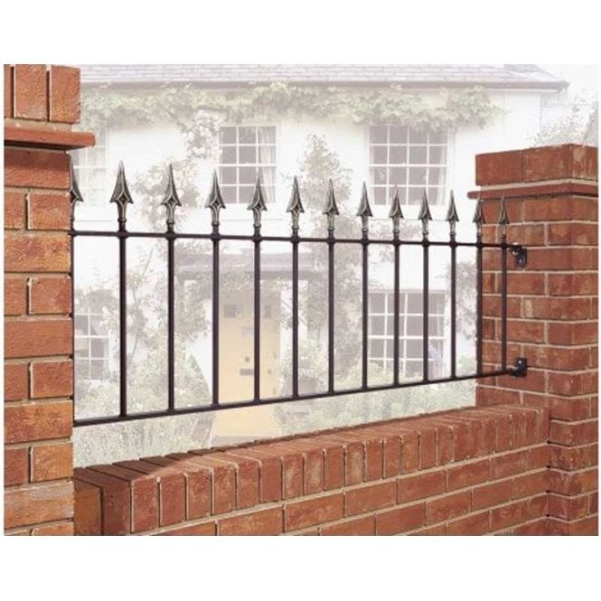 Click to view product details and reviews for Burbage Iron Craft Balmoral Plain Railing Panel.