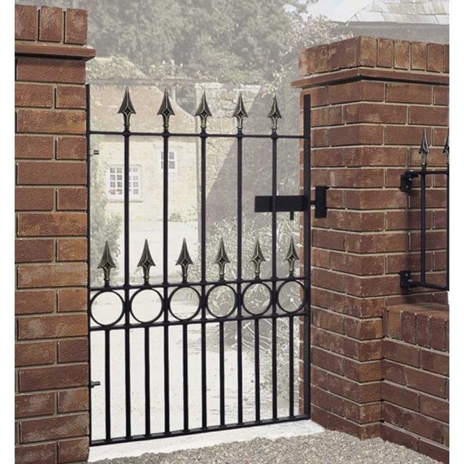 Burbage Iron Craft Balmoral Single Gate