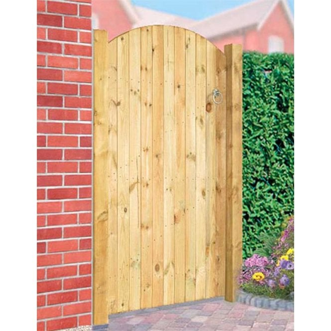 Click to view product details and reviews for Burbage Iron Craft Carlton Bow Top Single Gate.
