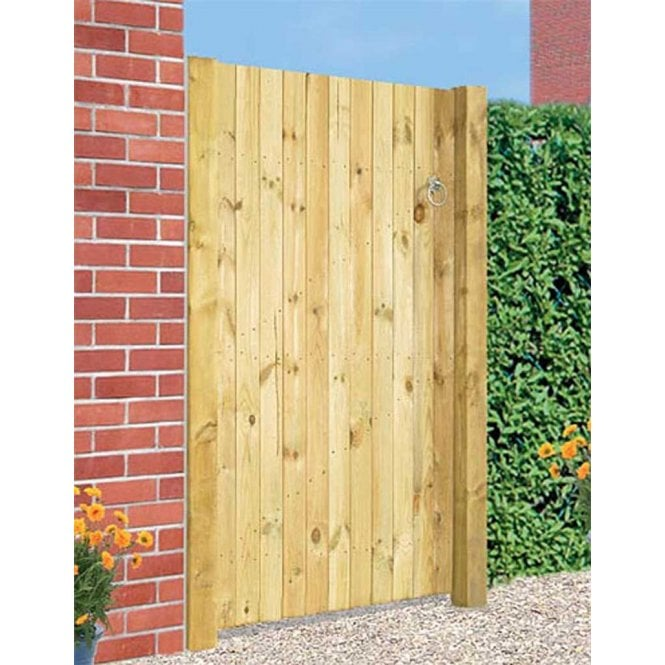 Click to view product details and reviews for Burbage Iron Craft Carlton Straight Top Single Gate.
