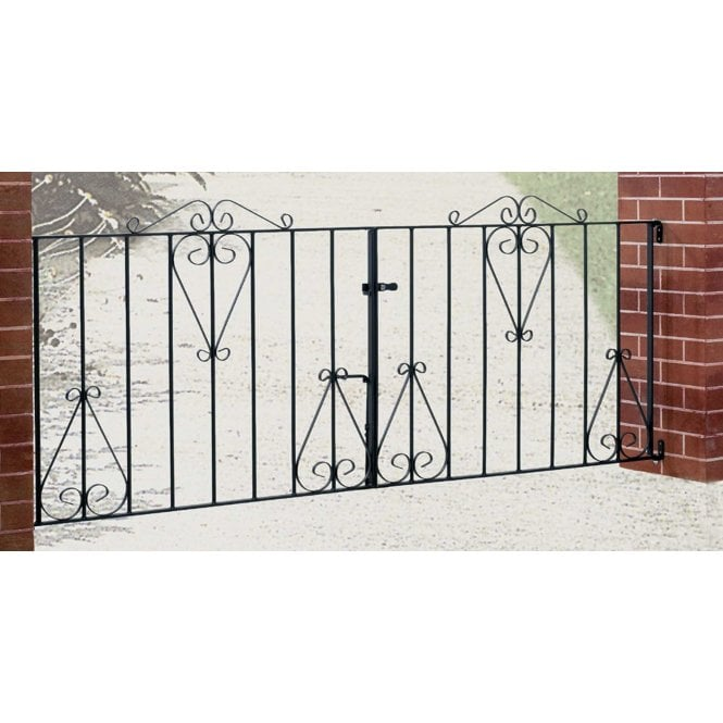 Click to view product details and reviews for Burbage Iron Craft Classic Double Driveway Gate.