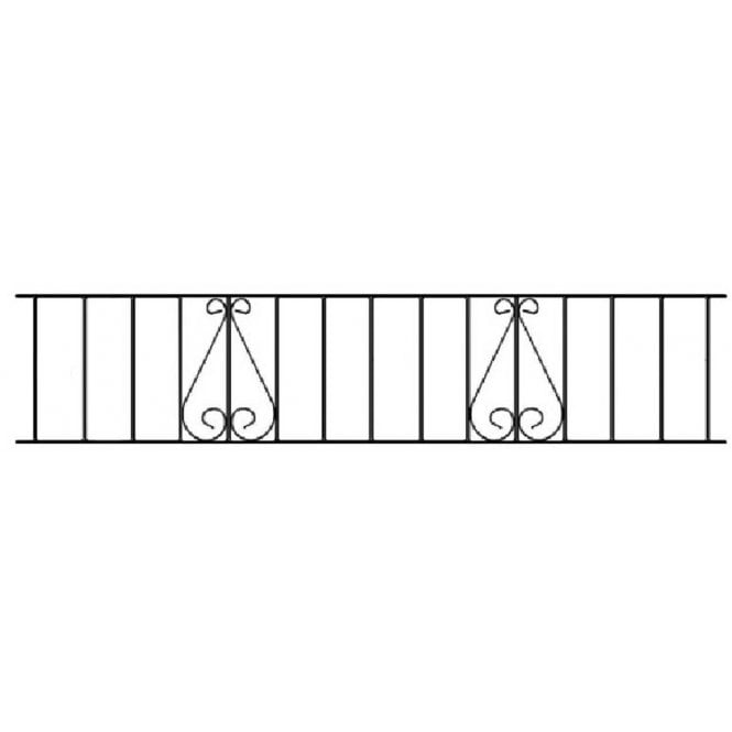Click to view product details and reviews for Burbage Iron Craft Classic Railing Panel.