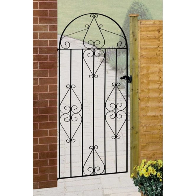 Click to view product details and reviews for Burbage Iron Craft Classic Tall Bow Single Gate.